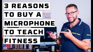 TOP 3 reasons why you should buy a headset microphone to teach group fitness classes (2 of 3)