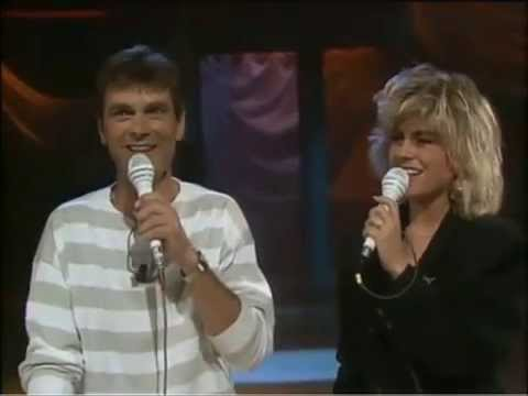 Pernilla & Hans Wahlgren  Dansen på Sunnanö Lördag med Larssons 1988