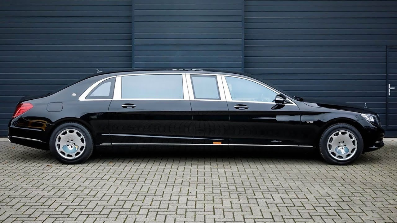 2017 mercedes-maybach s600 pullman guard - youtube