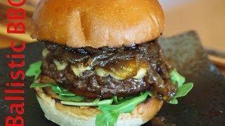 Four Roses Bourbon Burger Recipe!