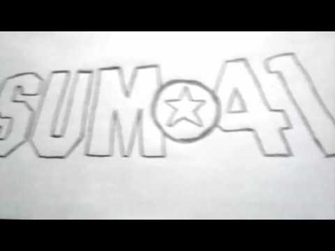 Sum 41 Smbolo Em Desenho Sum 41 Symbol In Drawing Youtube