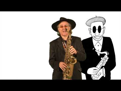 Chapter 2.6 Mark Archer teaches Swing Low Sweet Chariot on the saxophone