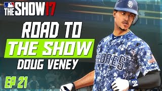 MLB THE SHOW 17 RTTS | PADRES FIGHT FOR A PLAYOFF SPOT! | EP 21