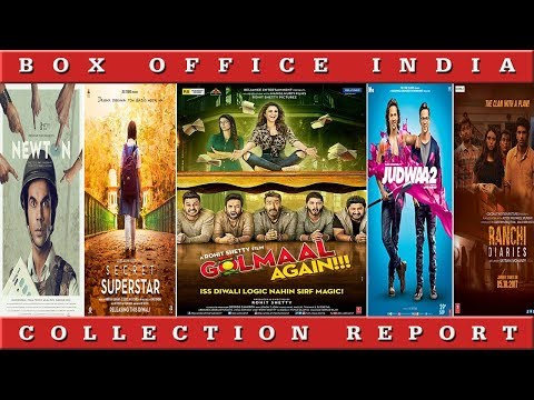 Box Office Collection of Golmal Again, Secret Superstar, Judwaa 2 | Box Office India