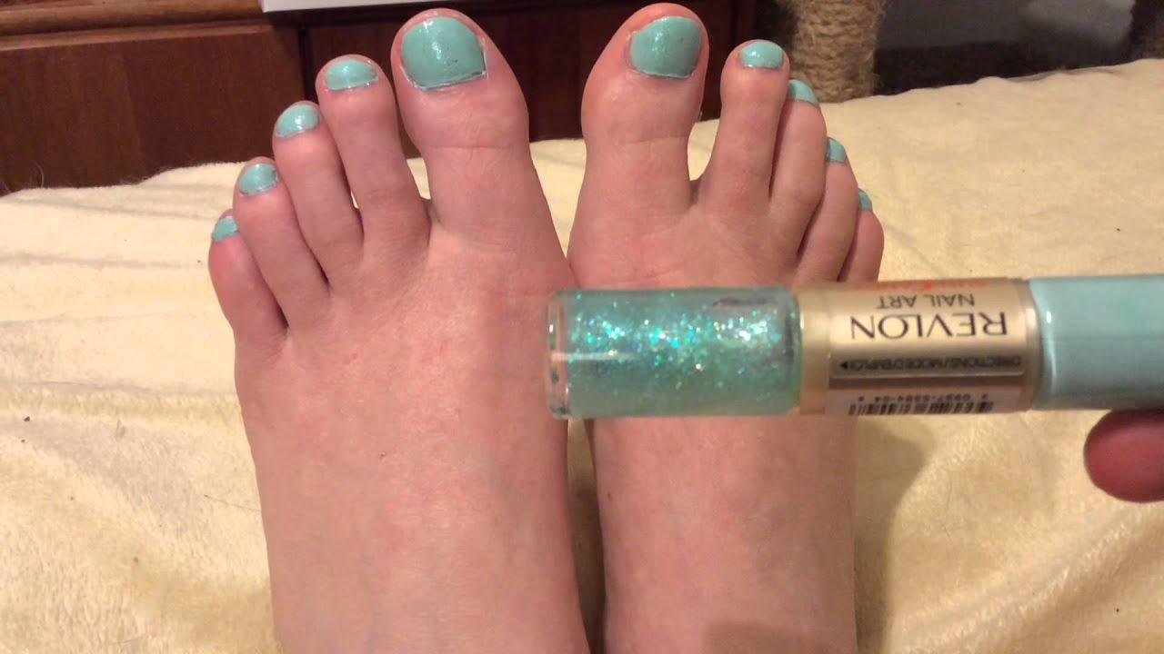 Revlon Nail Art Sun Candy - Review by Rebecca - YouTube