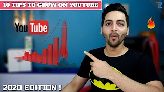 Top 10 Tips To Get Subscribers👩🏻🤝🧑🏾 On YouTube | How to Grow Your YouTube Channel🤷♂️ [2020]