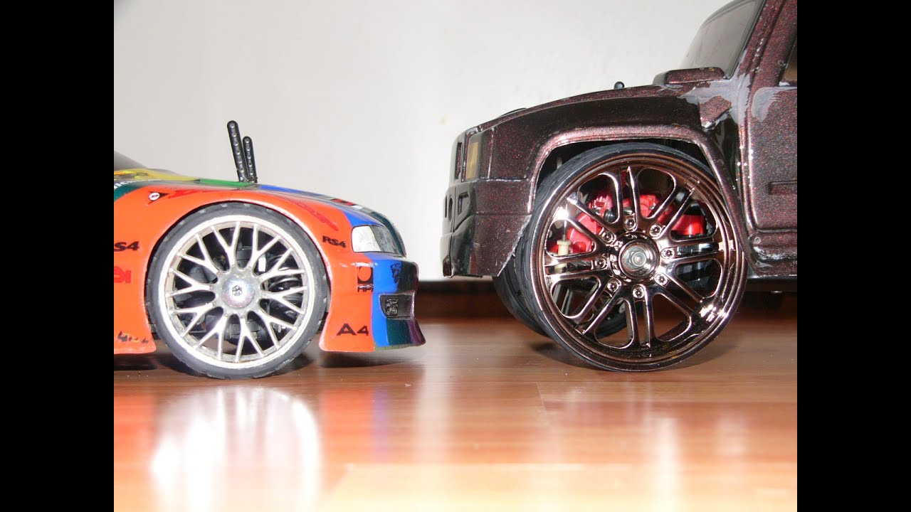 """Used Truck Rims >> How to make Dubs 40"""" Donk Wheels for your RC Car/Truck like a Boss - YouTube"""