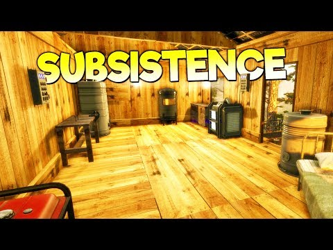 SURVIVOR CRAFTS REFINERY, GENERATOR, & POWERFUL WEAPONS! - Subsistence Gameplay Early Access Part 4