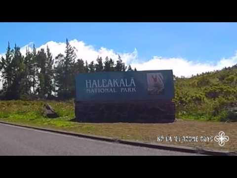 Haleakalā, Maui, Hawaii: Drive to the Top of the Crater