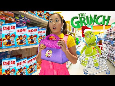 Paw Patrol Bath Soap and Band-Aids Shopping at Target with Ellie Sparkles