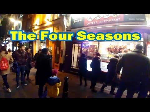 London Christmas Lights And The Four Seasons