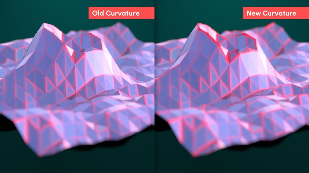 Redshift 2 5 Curvature