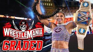 WWE WrestleMania 37 Night 1: GRADED | Sasha Banks Vs Bianca Belair, Drew McIntyre Vs Bobby Lashley!