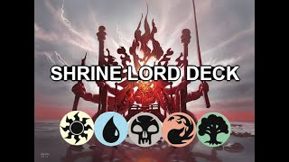 ALL THE SHRINES AND ITS GLORIOUS - MTG Arena - Original Decks - Historic