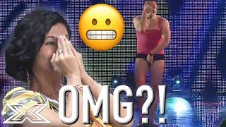 X Factor Contestant Makes The Live Shows Without Singing A Single Note!  | X Factor Global