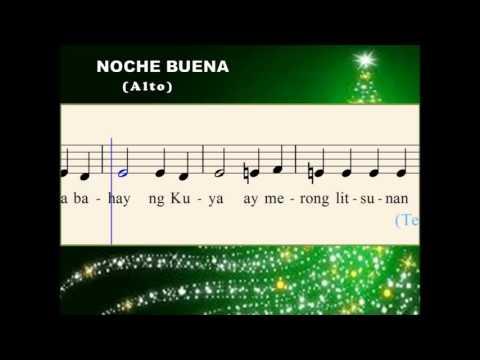 Q25b Noche Buena -  A Tagalog Christmas Song (Alto)