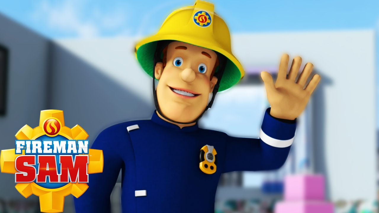 It's just a graphic of Clever Fireman Sam Pic