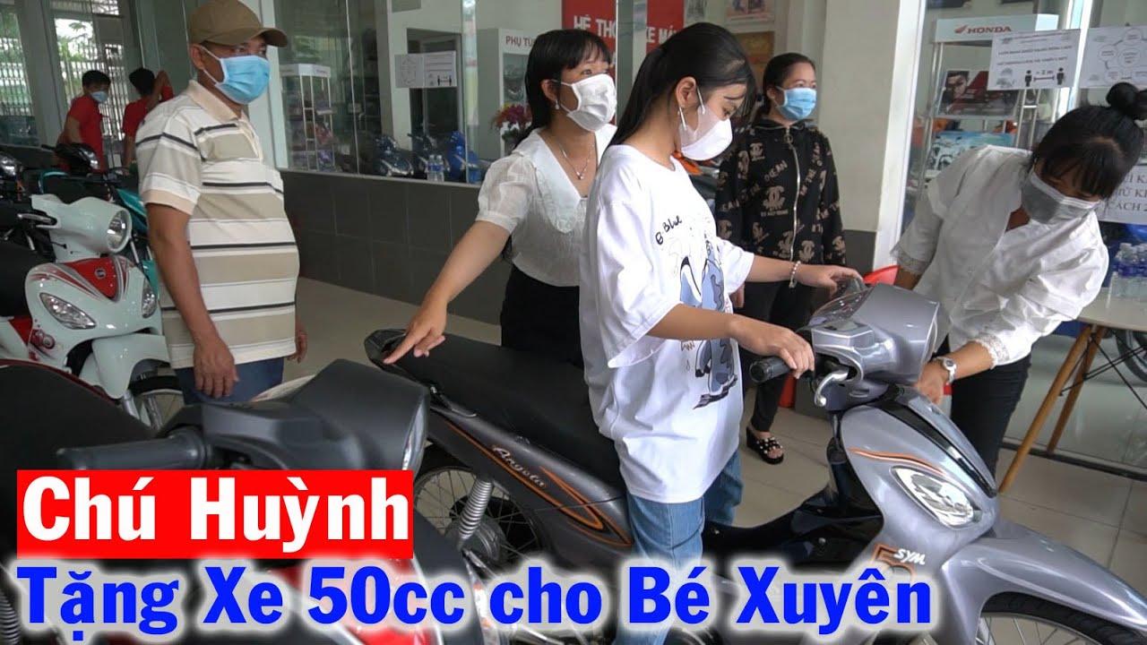 Download Tấm Lòng Yêu Mến của Chú Huỳnh dành cho Bé Xuyên chiếc Xe Gắn Máy 50cc để Đến Trường