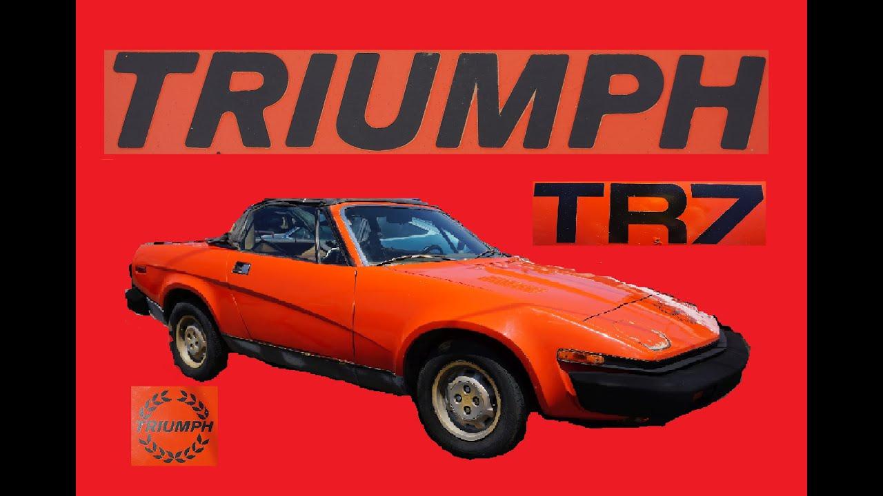 Triumph TR7 Drophead Spyder $895 Project Car TR5 TR6 For Sale ...