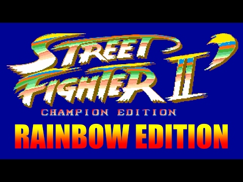[3/4] STREET FIGHTER II DASH RAINBOW EDITION