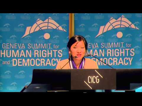 2014 Geneva Summit: Tenzin Dhardon Sharling, Tibetan MP