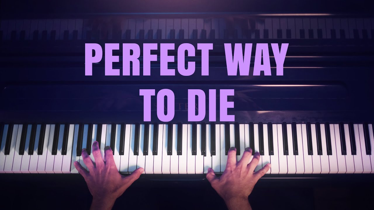 Alicia Keys - Perfect Way To Die (Emotional Piano Cover)