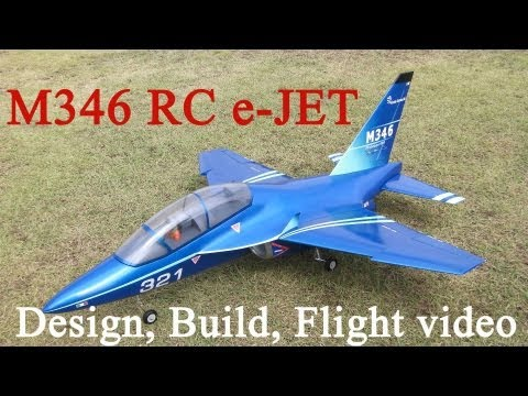 M346 RC e-JET Design Build Flight and Blueprint(Plans) public information.