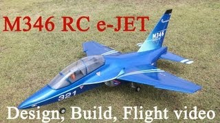 M346 Rc E-jet Design Build Flight And Blueprint(plans) Public Information.
