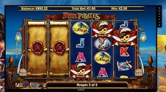 Five Pirates ■ Slot Preview ■ Free Spins ■ HD ■ 2017
