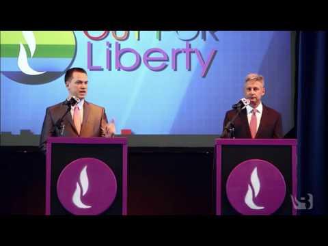 Gary Johnson and Austin Petersen Debate Religious Liberty