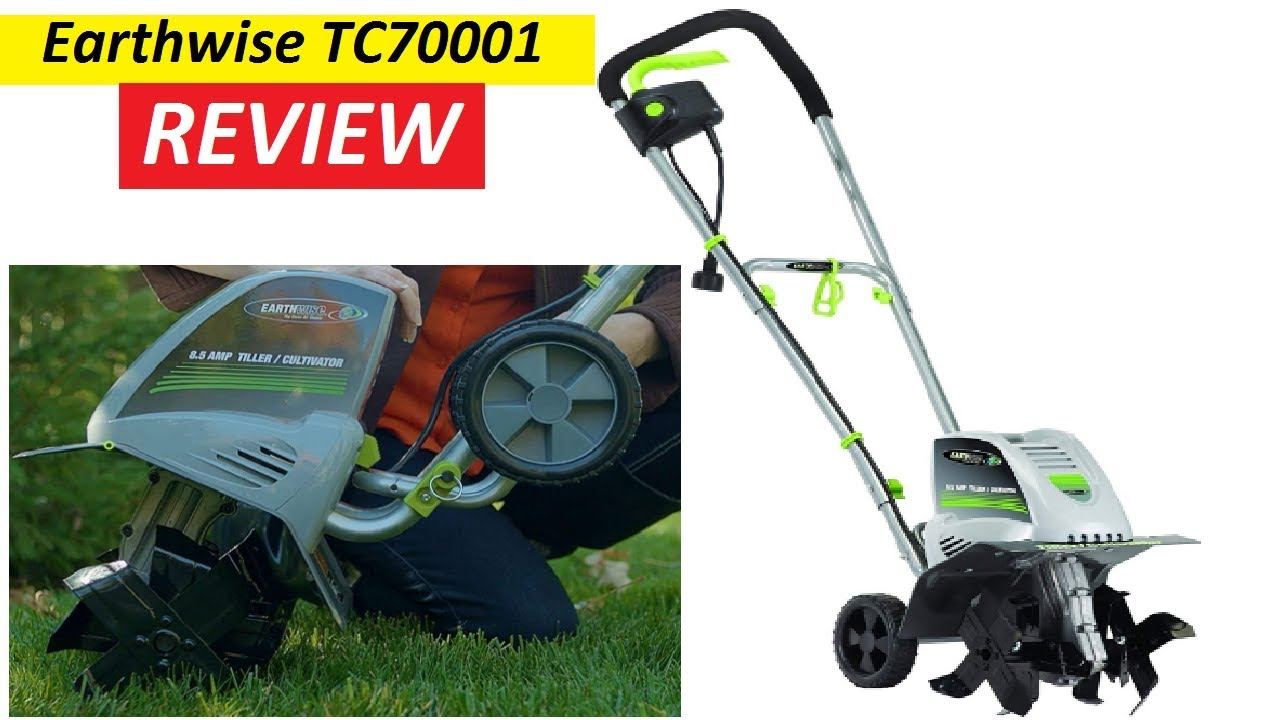 Earthwise Tc70001 11 Inch 8 5 Volt Corded Electric Tiller Review 2019