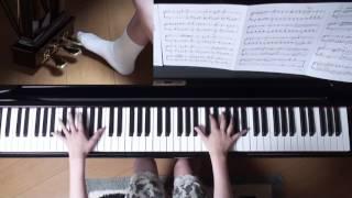 使用楽譜;ぷりんと楽譜・上級(採譜者:内田美雪)、 2017年7月18日 録画.