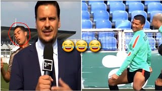 Funny situations from Ronaldo