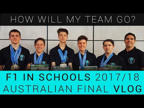 F1 in Schools Australian Final 2018 VLOG | Clutch Control