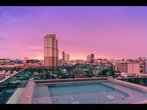 Rent an apartment in downtown Pattaya - The Urban Attitude residence from 11,000 THB per month!