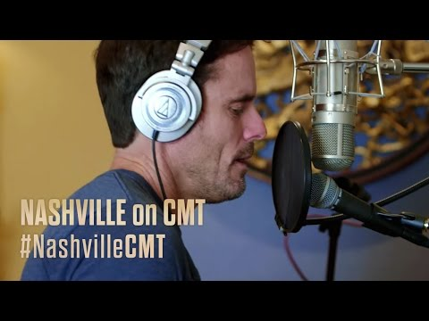 NASHVILLE on CMT | In The Recording Studio with Charles Esten