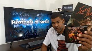 Duas melhores bandas do mundo e seus lançamentos Slayer e Iron Maiden - Brothers of Metal 071