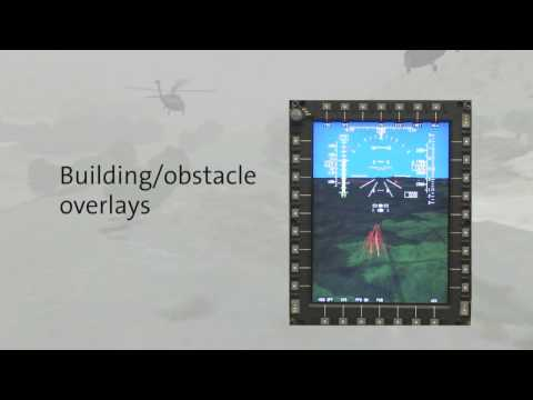 Rockwell Collins Synthetic Vision for Rotary Wing Platforms