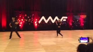 Toni Dovolani And Peta Murgatroyd Showcase Midwest Westie Fest 2014
