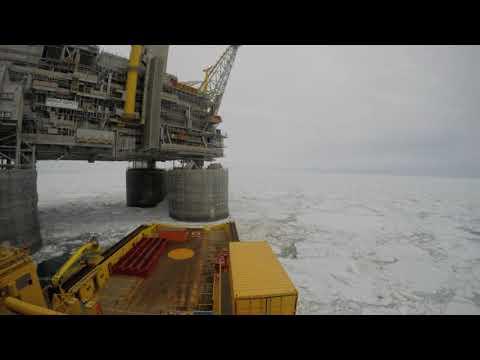 Viking Supply Ships vessel offshore Sakhalin Island