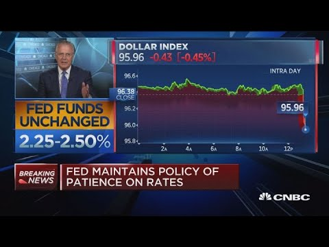 Fmr. Dallas Fed President: Fed's commitment to leave rates unchanged for 2019 is radical statement