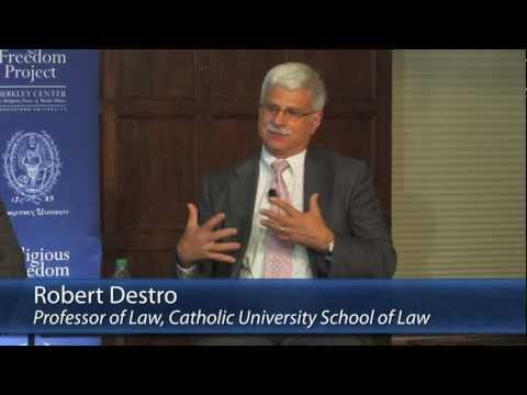 Robert Destro on the Clash of Fundamentalisms