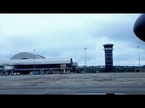 Bombardier Dash 8 - Q400 Landing At ASABA International Airport, Delta State Nigeria