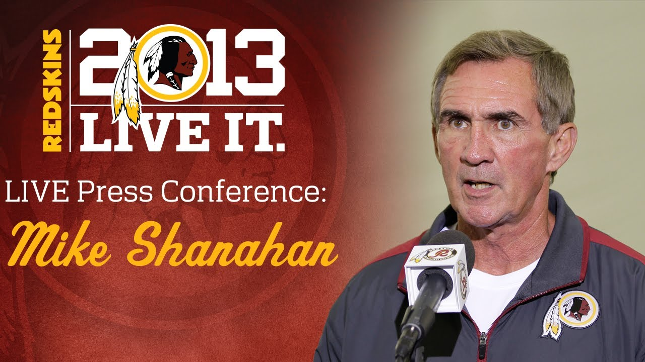 Coach Mike Shanahan Post Practice Press Conference: 08/22/13