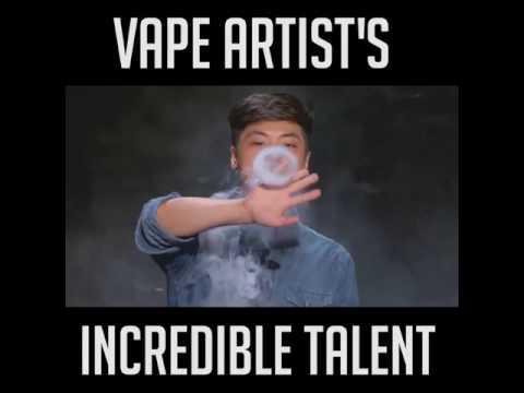 Vape Artist incredible talent - France Got Talent