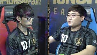 MATCH DAY4 B조 정재영 vs 김주성 [17.05.20] FIFA온라인3 챔피언십 2017 시즌1