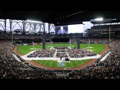 At a Glance: President Nelson Speaks at Safeco Field in Seattle