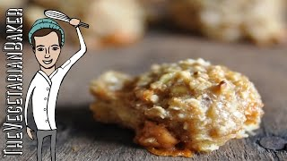 How To Make Gluten Free, Vegan Oatmeal Cookies | Only 2 Ingredients | Thevegetarianbaker