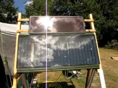 Basic DIY solar hot water video2