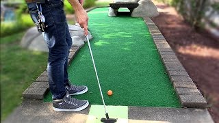 THE CLOSEST Mini Golf Game EVER! | Lets Play Mini Golf FOR REAL!